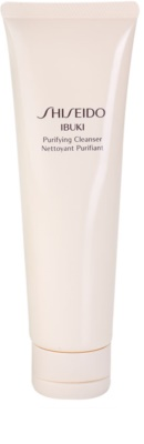 Shiseido Ibuki osvežilna čistilna pena z mikro zrnci