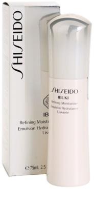 Shiseido Ibuki hidratáló emulzió az egészséges hatásért 1