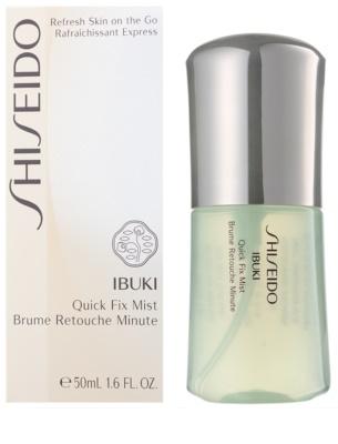 Shiseido Ibuki hydratační mlha pro mastnou pleť 2