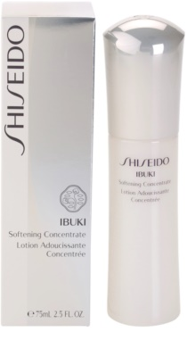 Shiseido Ibuki омекотяващ и хидратиращ тонер 2