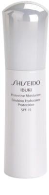 Shiseido Ibuki hydratisierende und schützende Creme SPF 15