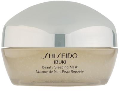 Shiseido Ibuki нощна маска за разкрасяване на кожата