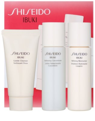 Shiseido Ibuki zestaw kosmetyków V. 1