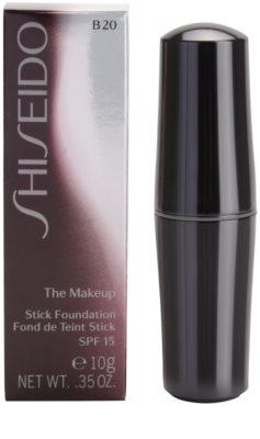 Shiseido Base The Makeup base de maquillaje hidratante en barra SPF 15 2