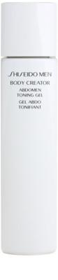 Shiseido Men Body gel modelador  para barriga e cintura
