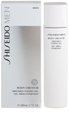 Shiseido Men Body modelační gel na břicho a pas 1