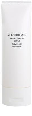 Shiseido Men Cleanse exfoliantel limpiador para rostro para hombre