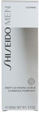 Shiseido Men Cleanse очищуючий пілінг для шкіри обличчя для чоловіків 2