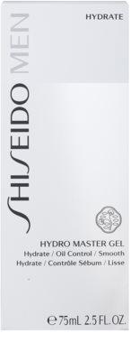 Shiseido Men Hydrate gyengéd és hidratáló géles krém az arcbőr megnyugtatására 3