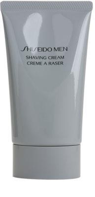 Shiseido Men Shave хидратиращ и успокояващ крем бръснене