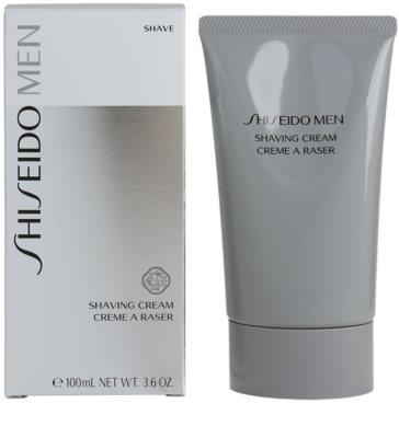 Shiseido Men Shave creme hidratante e apaziguador para barbear 1