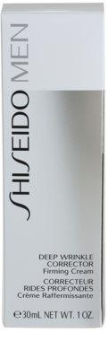 Shiseido Men Total Age-Defense intenzivna krema za korekcijo gub 3