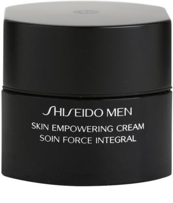 Shiseido Men Total Age-Defense подсилващ крем за уморена кожа