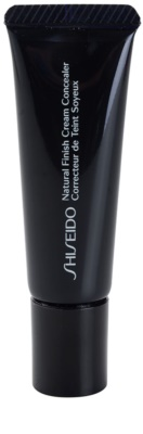 Shiseido Base Natural Finish Cream corrector de larga duración