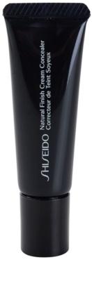 Shiseido Base Natural Finish Cream korektor o długotrwałym działaniu