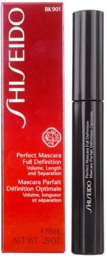 Shiseido Eyes Perfect Mascara спирала за обем, дължина и разделяне 2