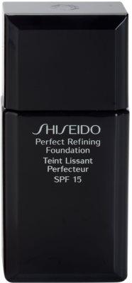 Shiseido Base Perfect Refining base líquida duradoura SPF 15