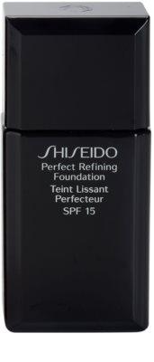 Shiseido Base Perfect Refining maquillaje fluido de larga duración  SPF 15
