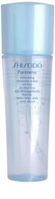 Shiseido Pureness loção facial refrescante para pele mista e oleosa