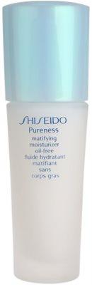 Shiseido Pureness Fluid pentru hidratare usoara pentru un aspect mat