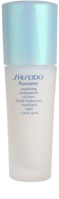 Shiseido Pureness Fluído hidratante leve para aspeto mate