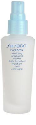 Shiseido Pureness leichtes, feuchtigkeitsspendendes Fluid für mattes Aussehen 1