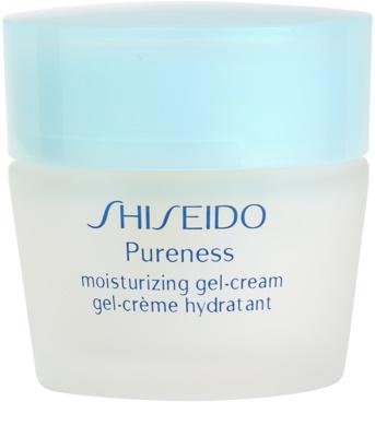 Shiseido Pureness creme gel hidratante para pele normal a mista