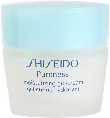 Shiseido Pureness hydratačný gélový krém pre normálnu až zmiešanú pleť