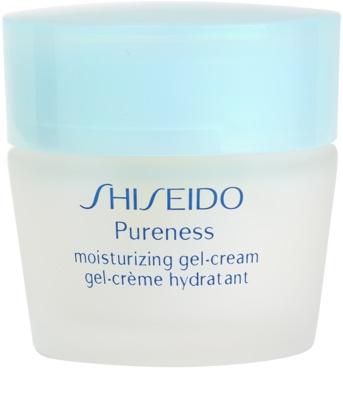 Shiseido Pureness żelowy krem nawilżający do cery normalnej i mieszanej