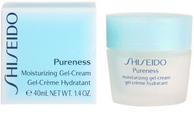 Shiseido Pureness gel crema hidratant pentru piele normala si mixta 3
