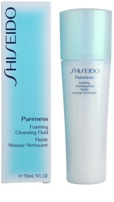 Shiseido Pureness emulsão de espuma suave para limpeza facial perfeita 3