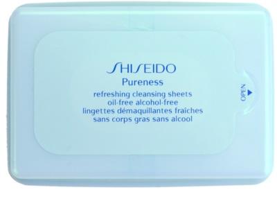 Shiseido Pureness robčki za odstranjevanje ličil za globoko čiščenje
