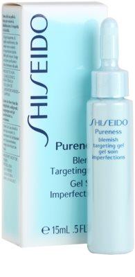 Shiseido Pureness tratamiento  localizado para pieles problemáticas y con acné 1