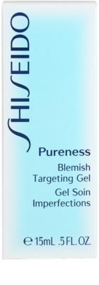 Shiseido Pureness tratamiento  localizado para pieles problemáticas y con acné 3