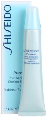 Shiseido Pureness hűsítő emulzió a bőr kisimításáért és a pórusok minimalizásáért 1