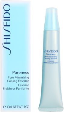 Shiseido Pureness hűsítő emulzió a bőr kisimításáért és a pórusok minimalizásáért 2