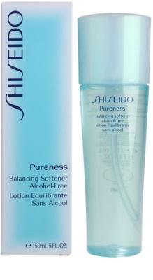 Shiseido Pureness loción facial tonificante sin alcohol 3