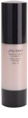 Shiseido Base Radiant Lifting Lifting-Make-up für strahlende Haut SPF 15