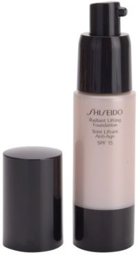 Shiseido Base Radiant Lifting rozjasňující liftingový make-up SPF 15 1