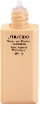 Shiseido Base Sheer and Perfect folyékony make-up SPF 15 1
