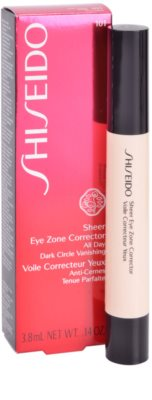 Shiseido Base Sheer Eye Zone Abdeckstift gegen dunkle Kreise 2