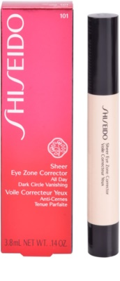Shiseido Base Sheer Eye Zone Abdeckstift gegen dunkle Kreise 3