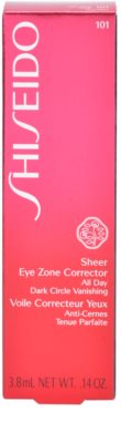 Shiseido Base Sheer Eye Zone Abdeckstift gegen dunkle Kreise 4