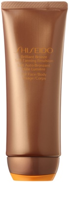 Shiseido Sun Self-Tanning samoopalovací emulze na tělo a obličej