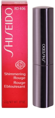 Shiseido Shimmering Rouge barra de labios 3
