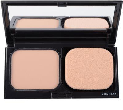 Shiseido Base Sheer Matifying das pudrige Kompakt-Make-up SPF 10