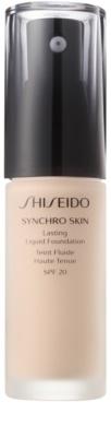 Shiseido Synchro Skin dolgoobstojen tekoči puder SPF 20