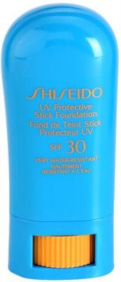 Shiseido Sun Foundation vizálló védő make-up ceruzában SPF 30