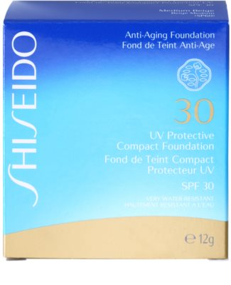 Shiseido Sun Foundation voděodolný kompaktní make-up SPF 30 3