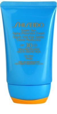 Shiseido Sun Protection creme solar facial SPF 30